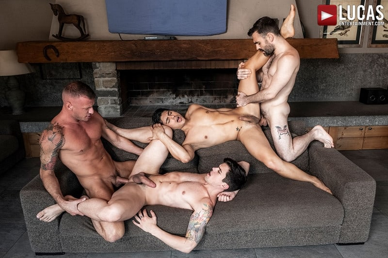 Men for Men Blog Gay-Porn-Pics-021-Dakota-Payne-Ken-Summers-Logan-Rogue-Max-Arion-Hardcore-ass-fucking-orgy-LucasEntertainment Hardcore ass fucking orgy with Dakota Payne, Ken Summers, Logan Rogue and Max Arion Lucas Entertainment