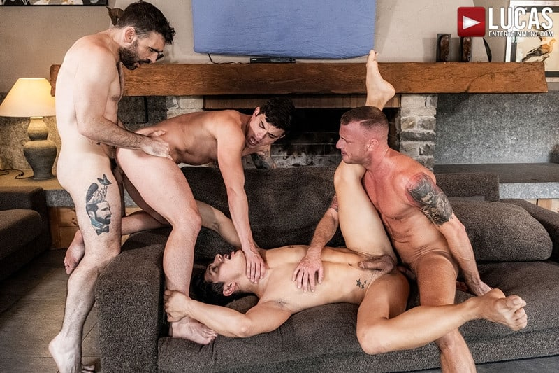 Men for Men Blog Gay-Porn-Pics-024-Dakota-Payne-Ken-Summers-Logan-Rogue-Max-Arion-Hardcore-ass-fucking-orgy-LucasEntertainment Hardcore ass fucking orgy with Dakota Payne, Ken Summers, Logan Rogue and Max Arion Lucas Entertainment