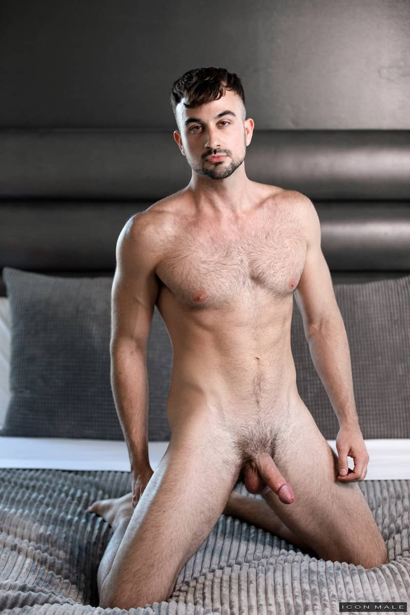 Men for Men Blog Gay-Porn-Pics-005-Mason-Lear-Brian-Bonds-Hairy-chested-cub-huge-dick-fucks-tight-hairy-asshole-IconMale Hairy chested cub Mason Lear's huge dick fucks Brian Bonds' tight hairy asshole Icon Male