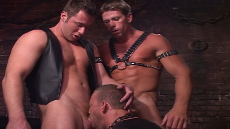 Arpad Miklos, Marco Paris, Trent Cougar, Rhet Hengst, Anthony Shaw and Bobby Williams hardcore ass fucking orgy