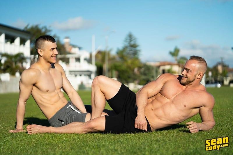 Sean Cody Brock and Ayden barebacking deep raw ass fucking