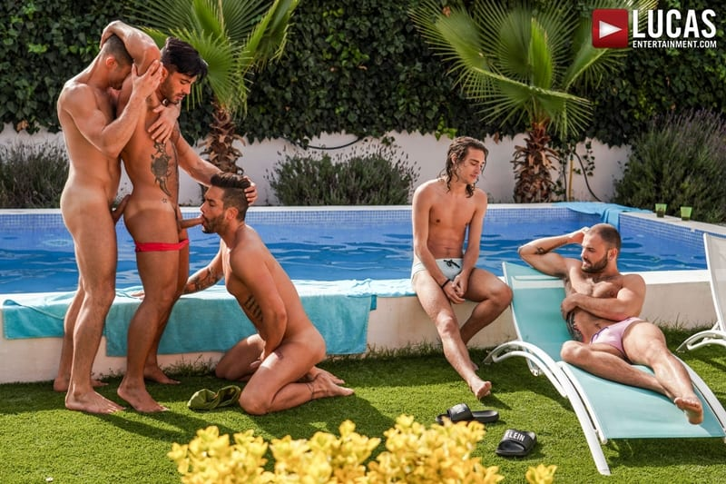 Poolside-Lucas-Men-threesome-Andrea-Suarez-Andy-Star-James-Castle-bareback-ass-fucking-orgy-LucasEntertainment-012-Gay-Porn-Pics